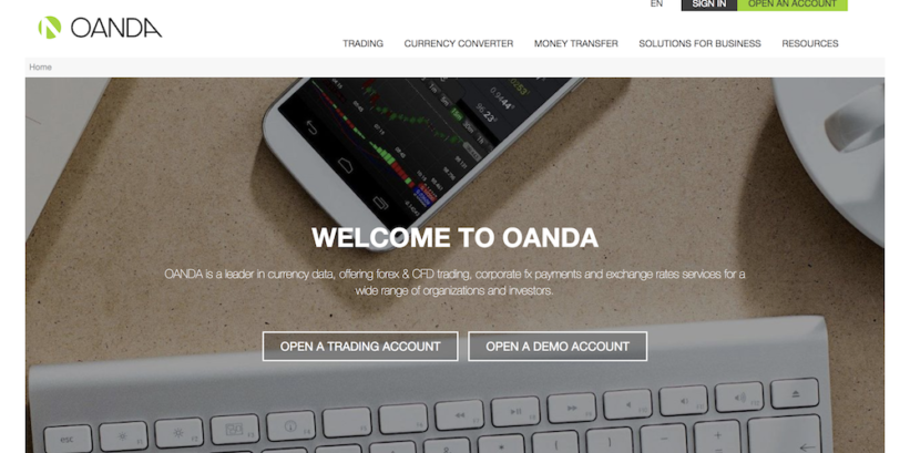 Elished During The Mid 1990s Oanda Is Regarded As A Pioneering Online Forex Broker Brokerage Firm Handles About One Fifth Of World S