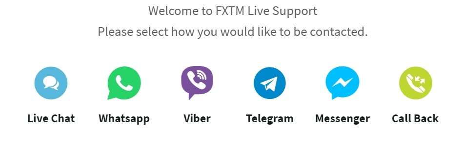 FXTM Live Support