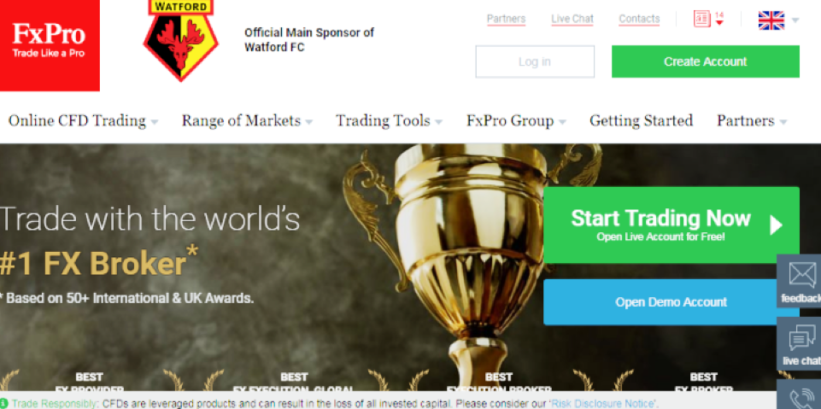 Trading 101   FxPro Review 2018